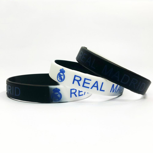 Mẫu Vòng tay cao su Real Madrid