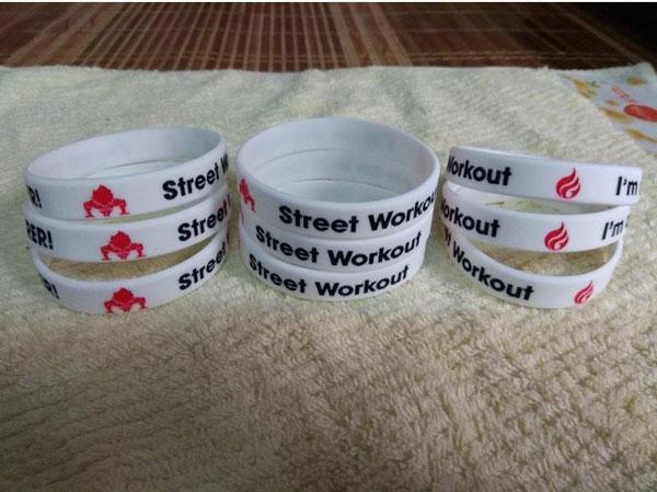 Vòng tay cao su Street Workout